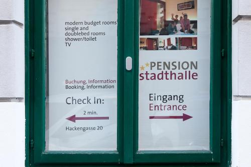 Pension Stadthalle